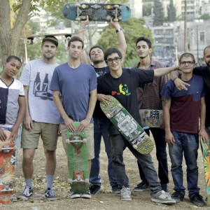 "Mohammed Zakaria (right), founder of Philadelphia Skateboards, Amman Jordan  "" There's something really special about skaters here in Jordan."""