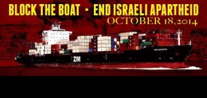 Block the Boat LA is holding an action October 18th. (Image: Facebook)