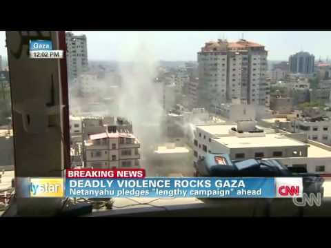 TV coverage of Gaza onslaught