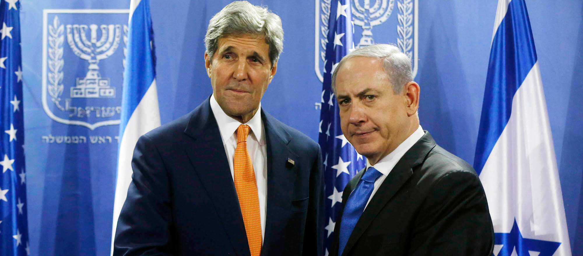 U.S. Secretary of State John Kerry (L) meets with Israeli Prime Minister Benjamin Netanyahu in Tel Aviv July 23, 2014. (Photo: Reuters)