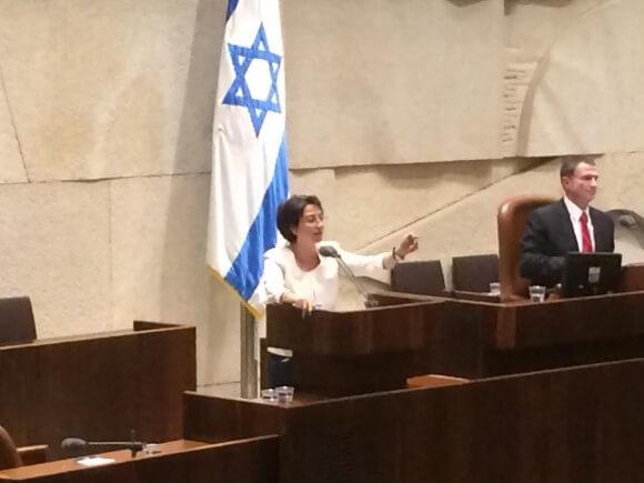 Haneen Zoabi in Knesset