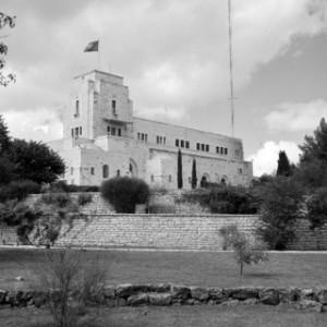 Government House, Jerusalem, UNTSO hq