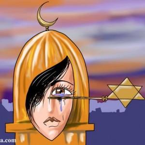 Graphic: Palestinian Cartoonist Mohammad Saba'aneh  @Sabaaneh