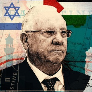 Reuven Rivlin image from the New Yorker
