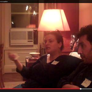 Alia Alrosan and Nabil Al-Raee in NY