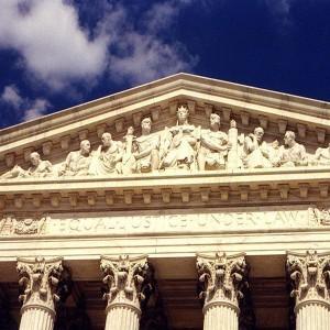 Supreme Court Frieze