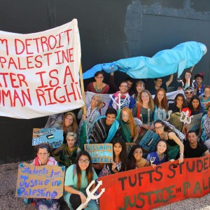 Tufts SJP Group Shot marching for water rights. (Photo: Leah Muskin-Pierret)