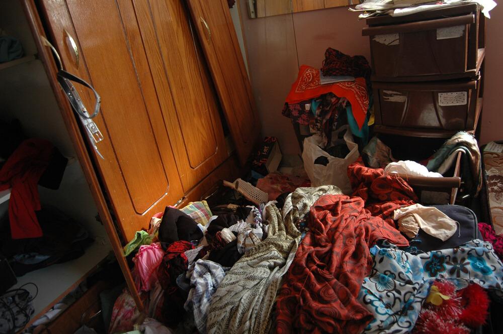 Apartment of Enas al-Shaludi, mother of Abdel Rahman al-Shaludi. (Photo: Allison Deger)
