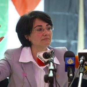 Knesset member Haneen Zoabi (Balad). (Photo: Jack Guez /AFP)