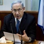 Israeli Prime Minister Benjamin Netanyahu speaks during in his Cabinet meeting in his office in Jerusalem on Sunday. (Photo: Jim Hollander/AP/ABC News)