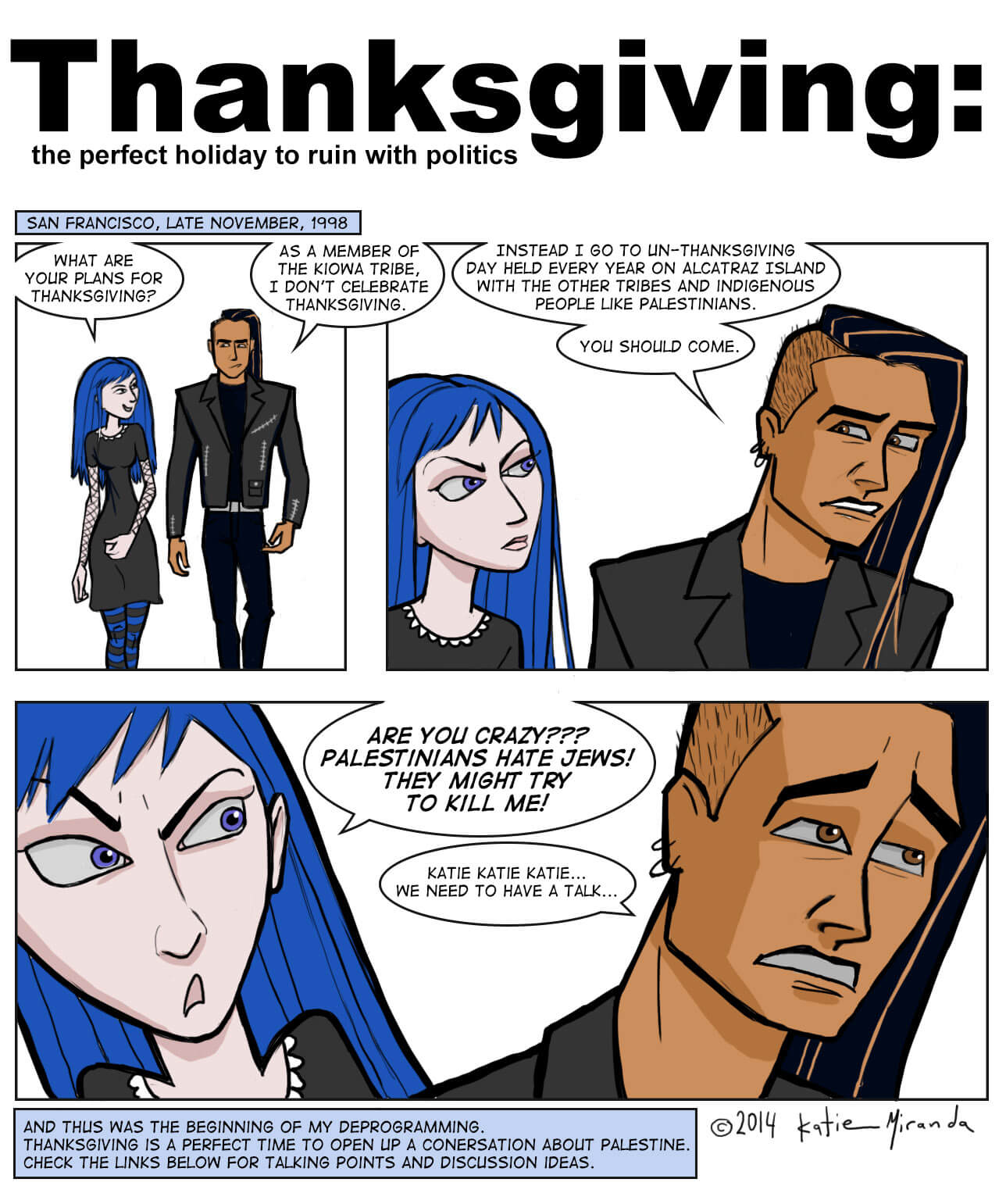 Thanksgiving: The perfect holiday to ruin with politics