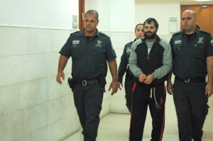 Yosef Ben-David, 29, accused ringleader in the murder and abduction of Mohammed Abu Khdeir. (Photo: Allison Deger)