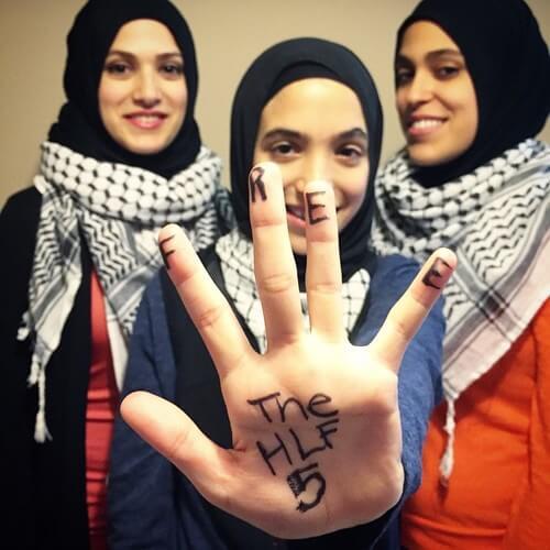 Daughters of Holy Land 5 Political Prisoner Shurkri Abu Baker - Stand up for Justice