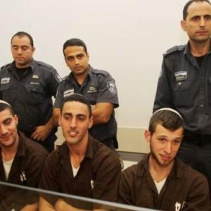 Extremist suspects, photo by Ido Erez of Ynet