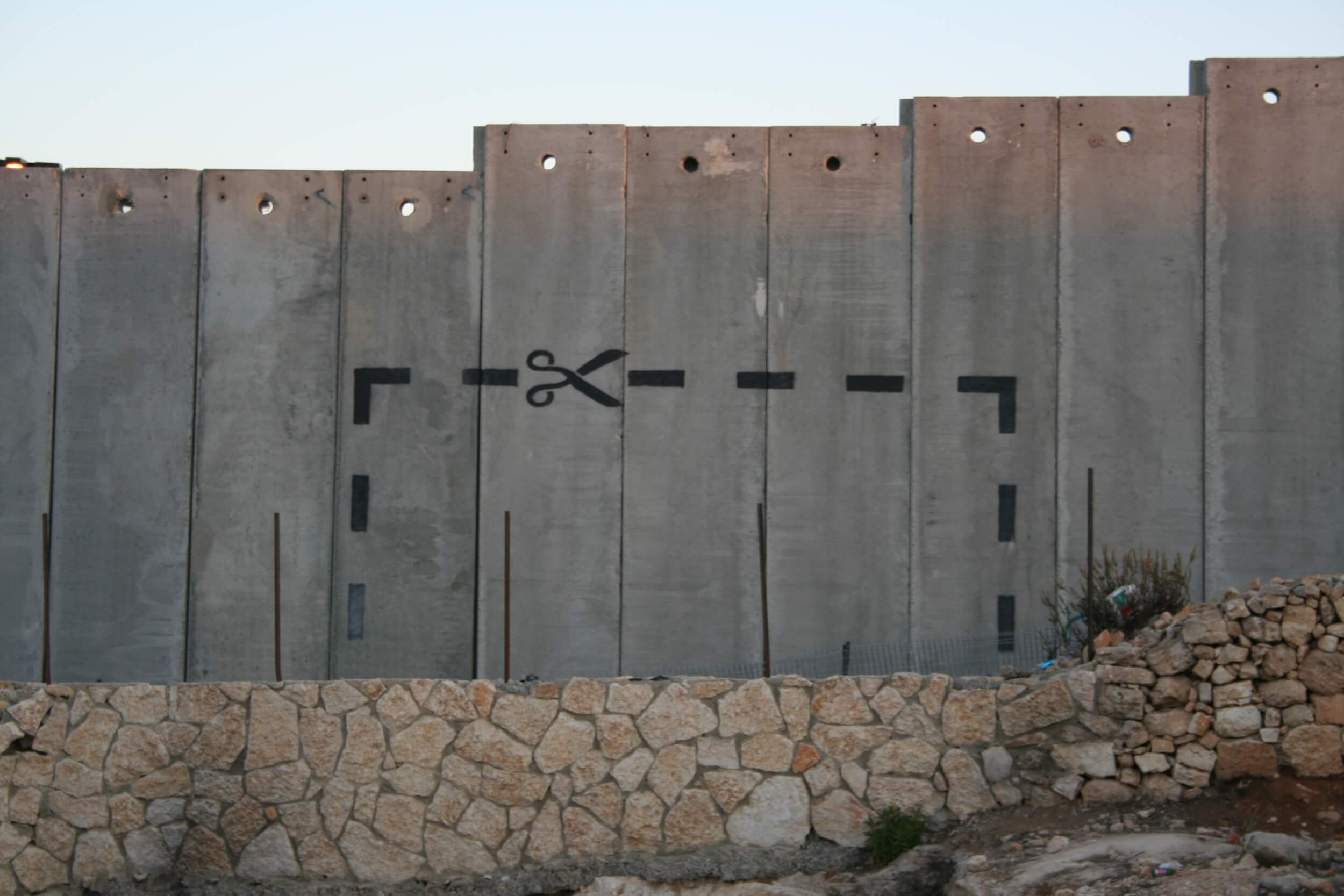 """The wall at Bethlehem, photo by """"Delayed Gratification"""" on Flickr"""