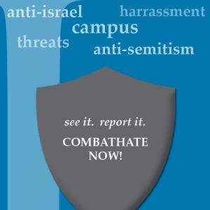 CombatHateU's logo