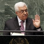 "Palestinian Authority President Mahmoud Abbas appeals to all nations to vote in favor of the Palestinians ""as an investment in peace,"" in a statement before the United Nations General Assembly, Thursday, November 29, 2012. (Photo: Richard Drew/AP)"