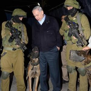 Netanyahu at Hanukkah candle-lighting