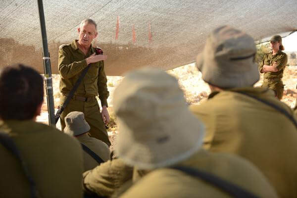 """Israeli army chief of staff says Israel """"faces conflict on multiple fronts"""", from the IDF twitter feed"""