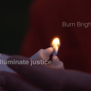 Screen shot: Jewish Voice for Peace - Chanukah 2014