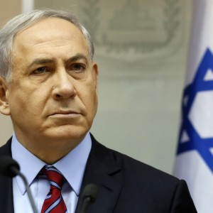 Israeli Prime Minister Benjamin Netanyahu chairs the weekly cabinet meeting at his Jerusalem office, Sunday, Nov. 16, 2014. (AP Photo/Gali Tibbon, Pool)