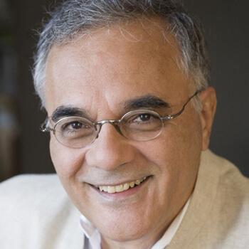 Mahmood Mamdani, photo from Columbia University