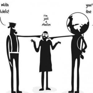 Cartoon by Sudanese artist Khalid Albaih, from Aljazeera.com