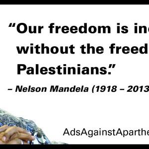 Ads Against Apartheid Mandela ad
