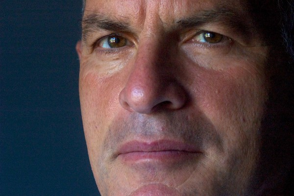 Author Norman Finkelstein in his home  in Brooklyn, NY. (Photo: OR Books)