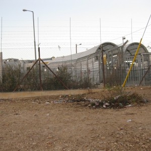 Taybe checkpoint in Tulkarem, photo by A Prairie Voice