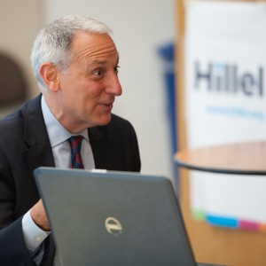 Eric Fingerhut, the head of Hillel International. (Photo: Shahar Azran for Hillel)