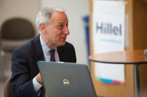 Eric Fingerhut, the head of Hillel International. (Photo: Shahar Azran for Hillel)