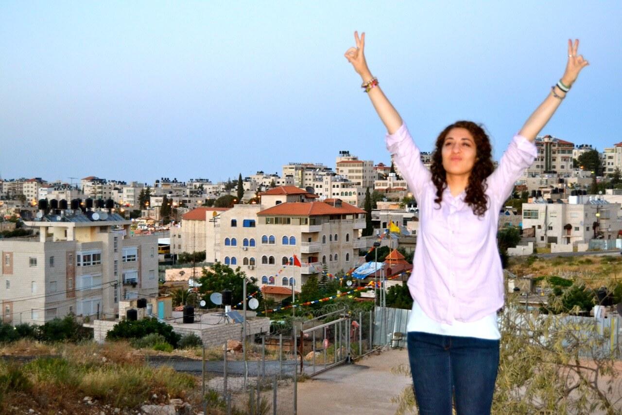 Samah Assad on her last day in Beit Hanina.