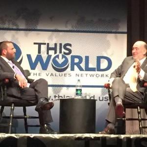 Rabbi Shmuley Boteach and Israeli Ambassador to the UN Ron Prosor.