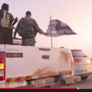 Video screenshot, from Haaretz