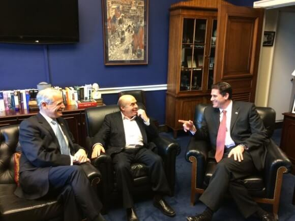 Israel with Ron Dermer and Natan Scharansky