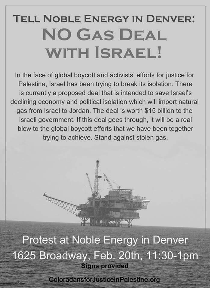 Denver protest flier