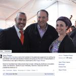 Screenshot from Yishai Fleisher's Facebook page.
