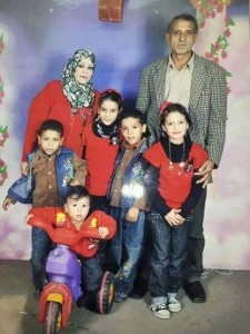 Al Kilani family foto included in Waters's letter to Parsons