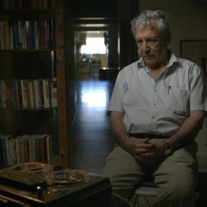 Amos Oz in the documentary, Censored Voices