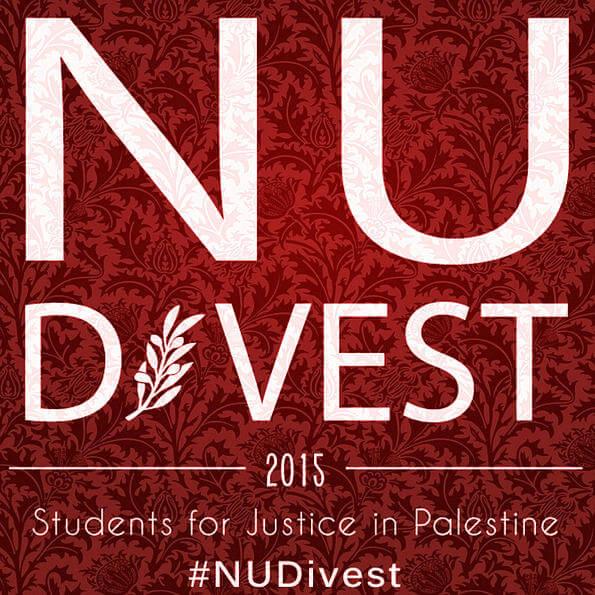 Northwestern Divest Logo