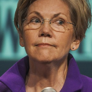 Elizabeth Warren makes a speech at the AFL-CIO Wages Summit, in Washington, DC.