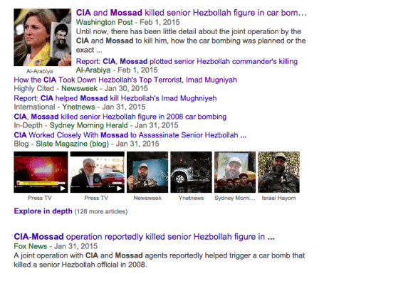 Story about US and Israel carrying off assassination gets a lot of pickup