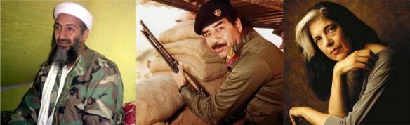 Terror threesome: Osama, Saddam, and Susan