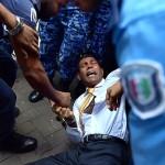 Mohamed Nasheed arrest, Getty images