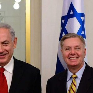 Lindsey Graham and the Prime Minister, Netanyahu