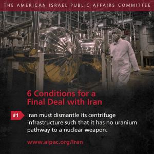 AIPAC opposing Iran deal