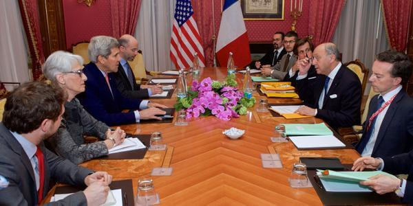 Swiss negotiations, with Kerry