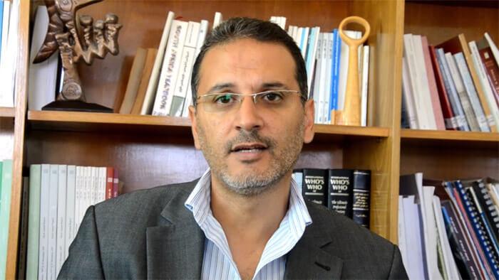 Yasser Abu Jamei of Gaza Community Mental Health Programme