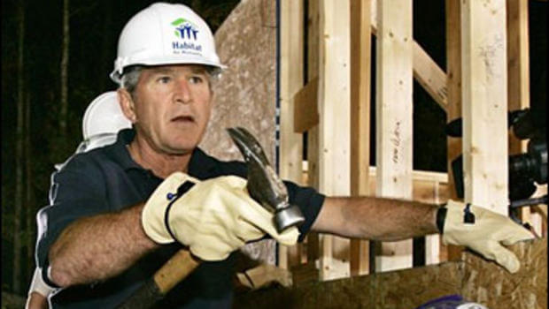Former U.S. President G.W. Bush will be helping out the effort as well.
